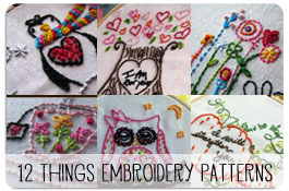 12 Things God Wants You to Remember Embroidery Patterns