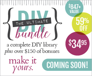 The Ultimate DIY Bundle Flash Sale=