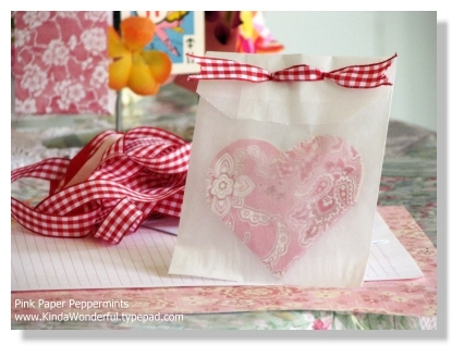 Foldable Paper Heart Flower Mini Book Card