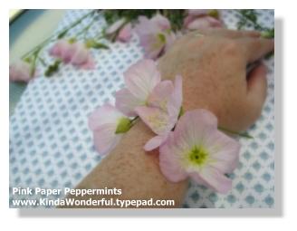 Daisy Chain Wild Flower Bracelet