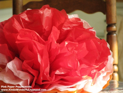 31 crafty flowers in 31 days tutorials giant mexican tissue paper giant mexican tissue paper flowers mightylinksfo