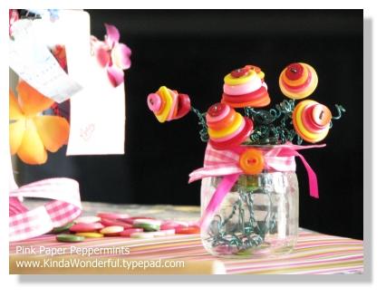Button Flower Boquet