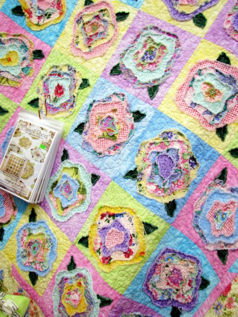 Flower Applique Quilts - Homepage - allpeoplequilt.com