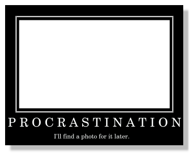 Procrastination speech essay