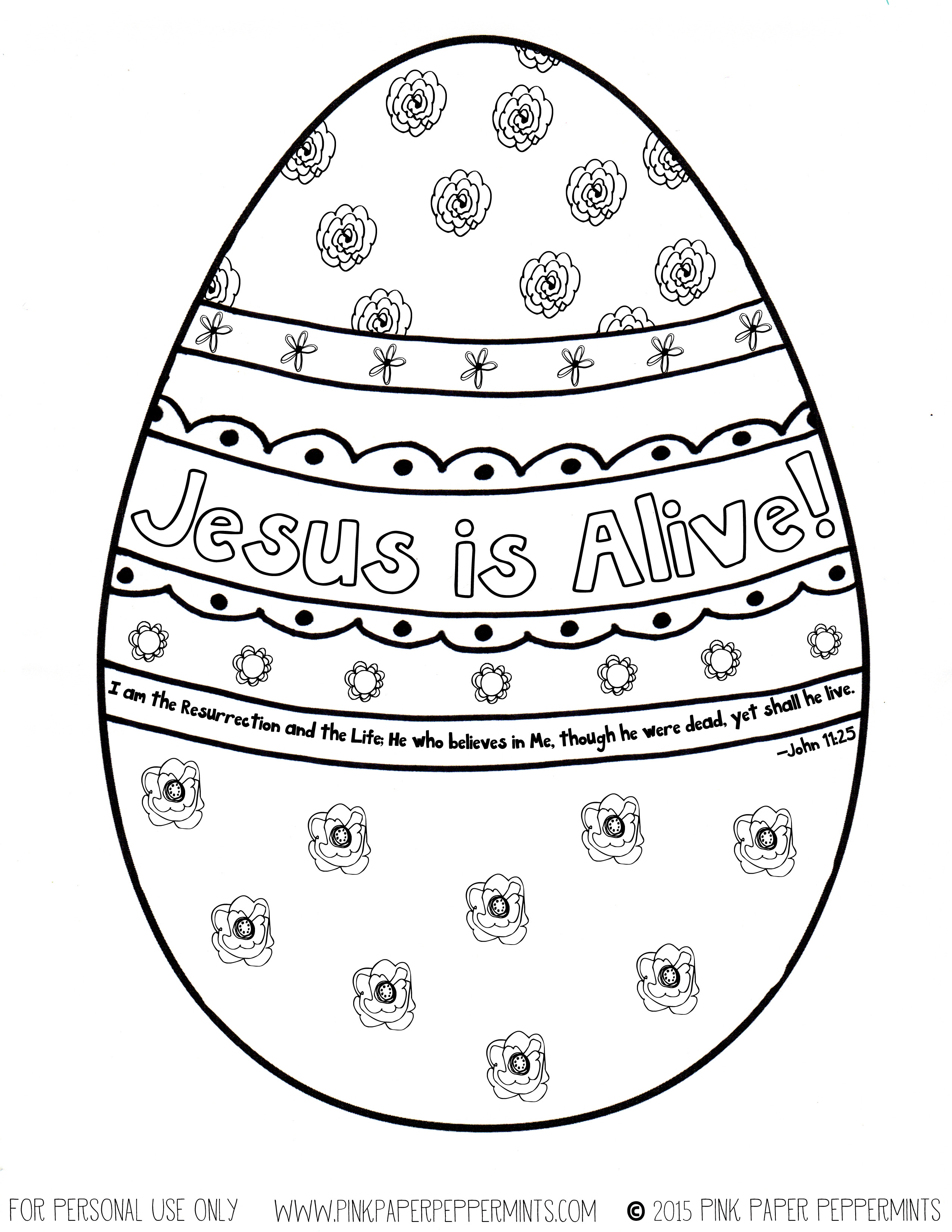 It's just a photo of Old Fashioned jesus is alive coloring page