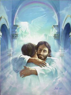 0812_jesus_gives_hug_christian_clipart